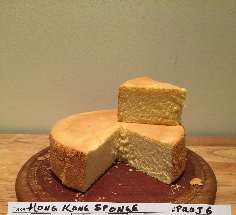 Hong Kong Sponge Cake