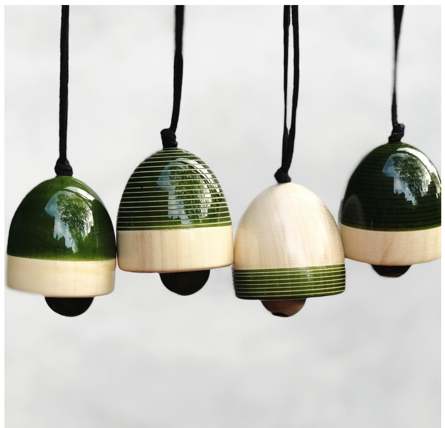 Holiday Ornaments to hang on your tree or ring in the new year!