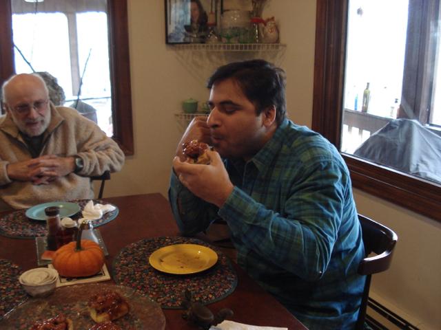 Suvir Saran's #3 Sticky Bun