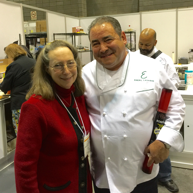 Rose & Emeril at Housewares Show