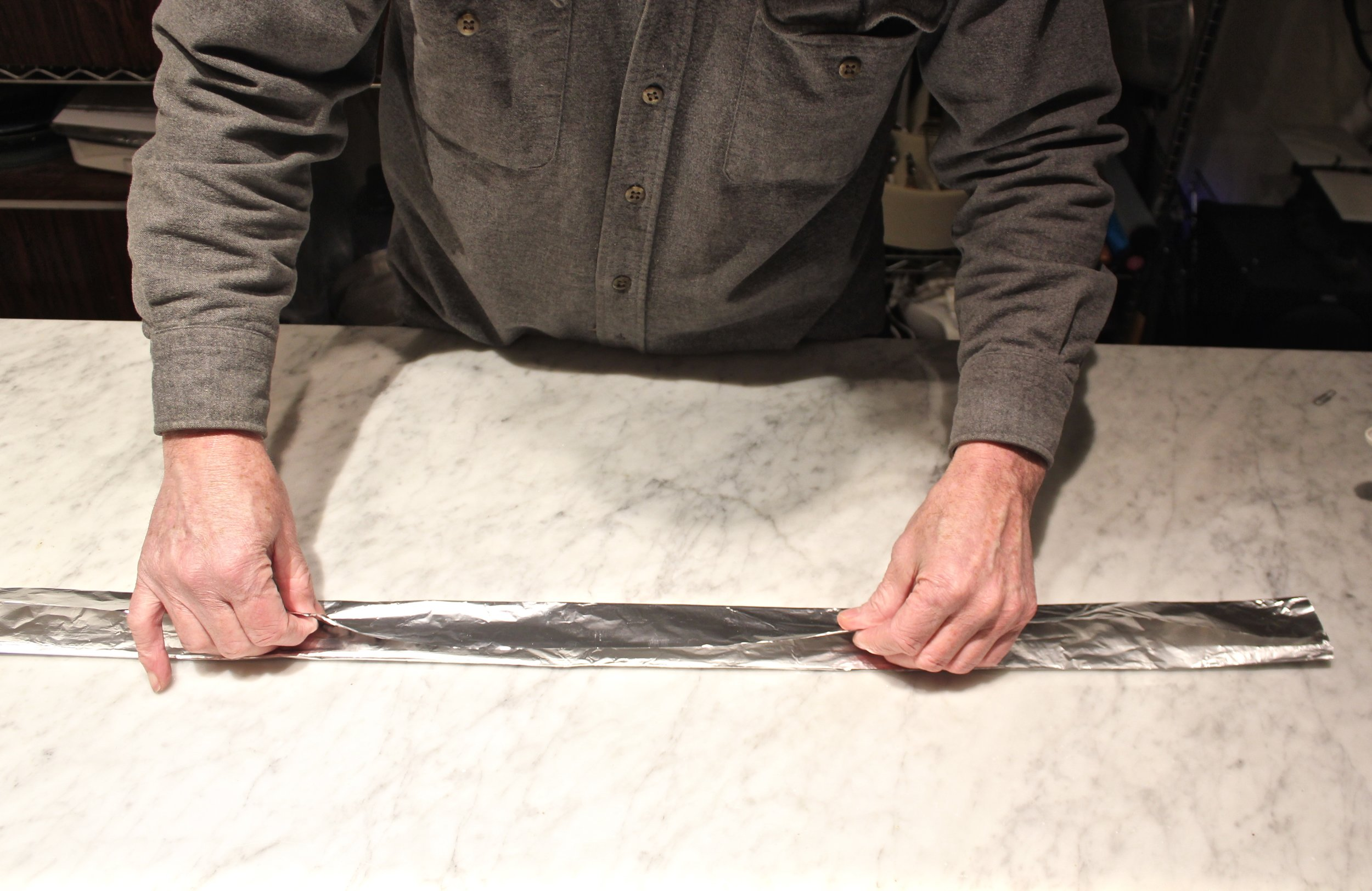 7. Folding Lengthwise