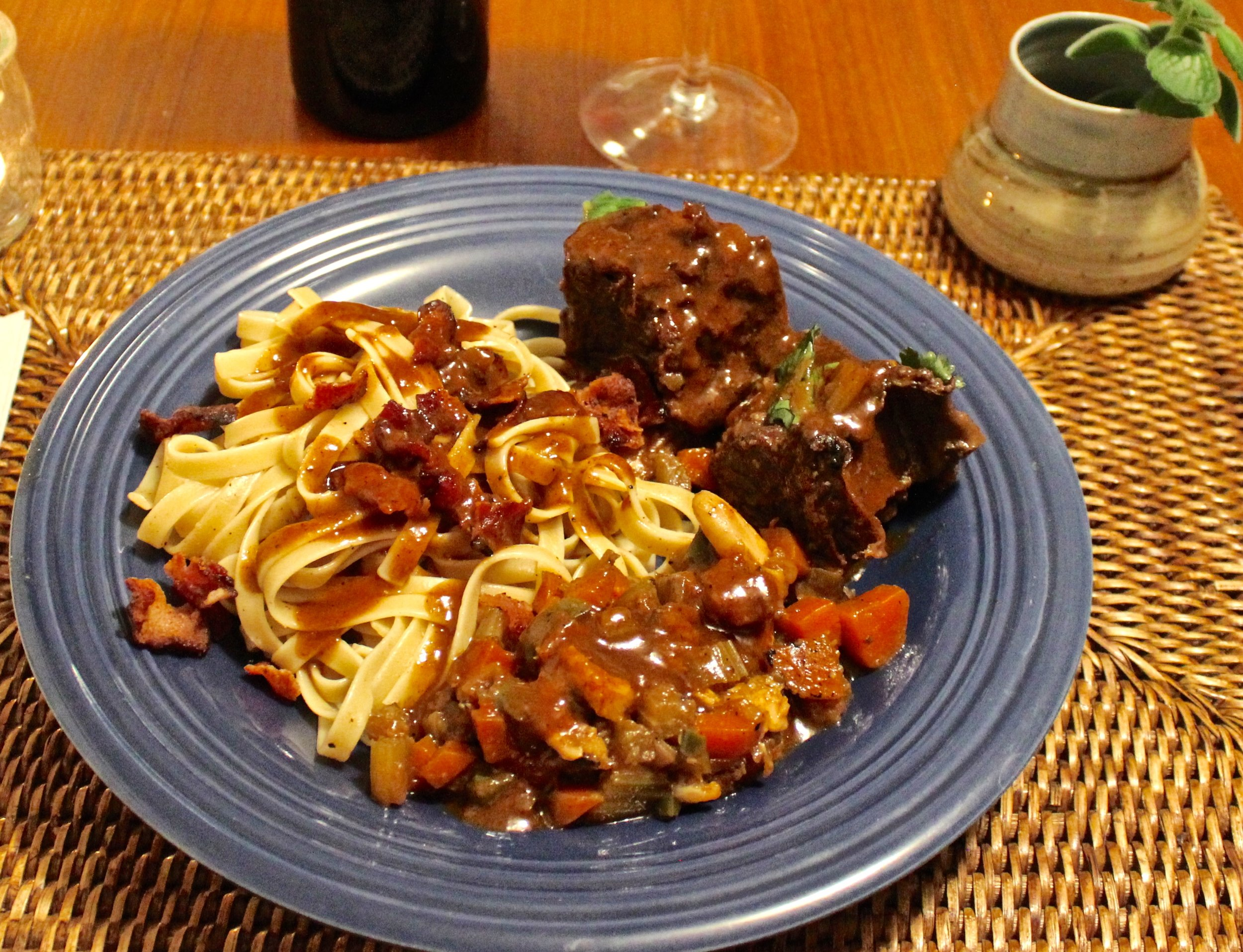 Braised short ribs, vegetables, and noodles .jpg