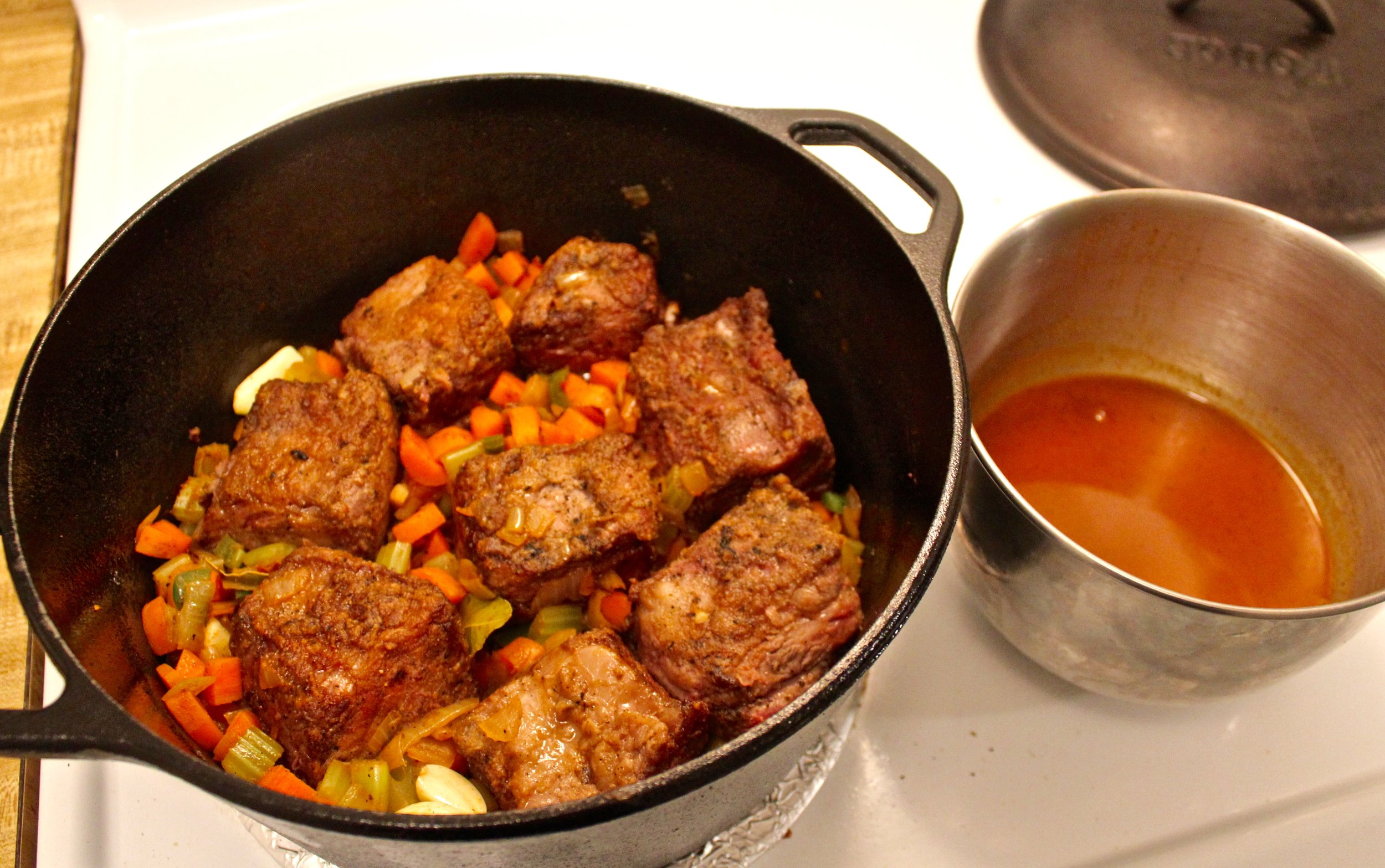 13. Nestle the Short RIbs