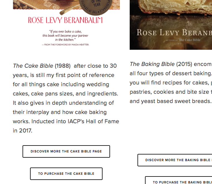 1. Rose's Books page with link