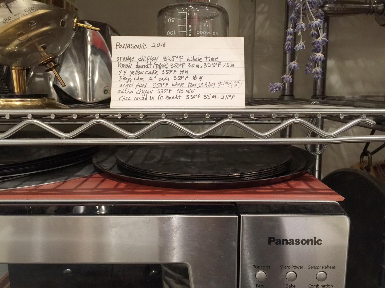 Pana oven card.JPG