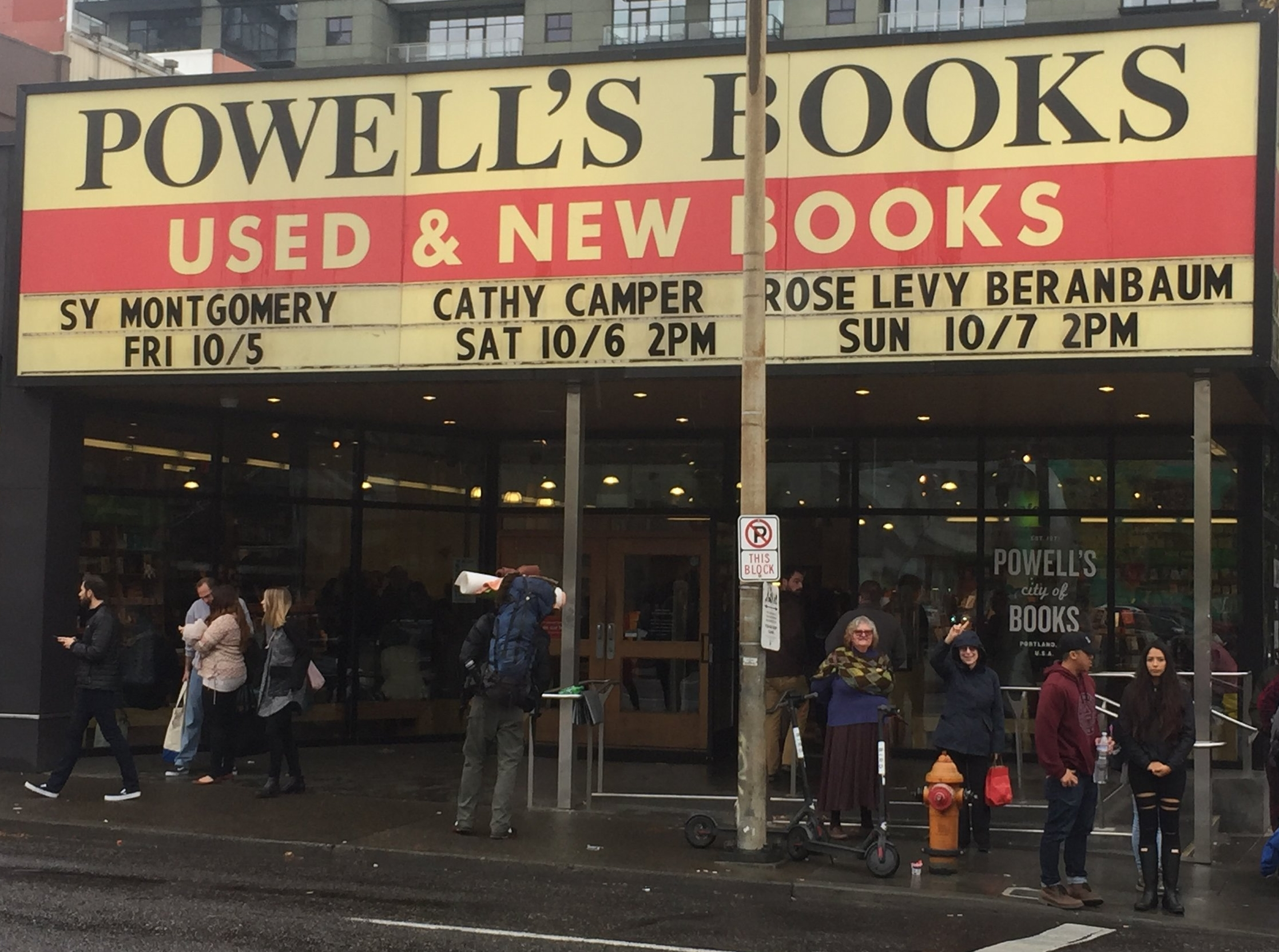 TRISH & ROSE at POWELL's CITY of BOOKS