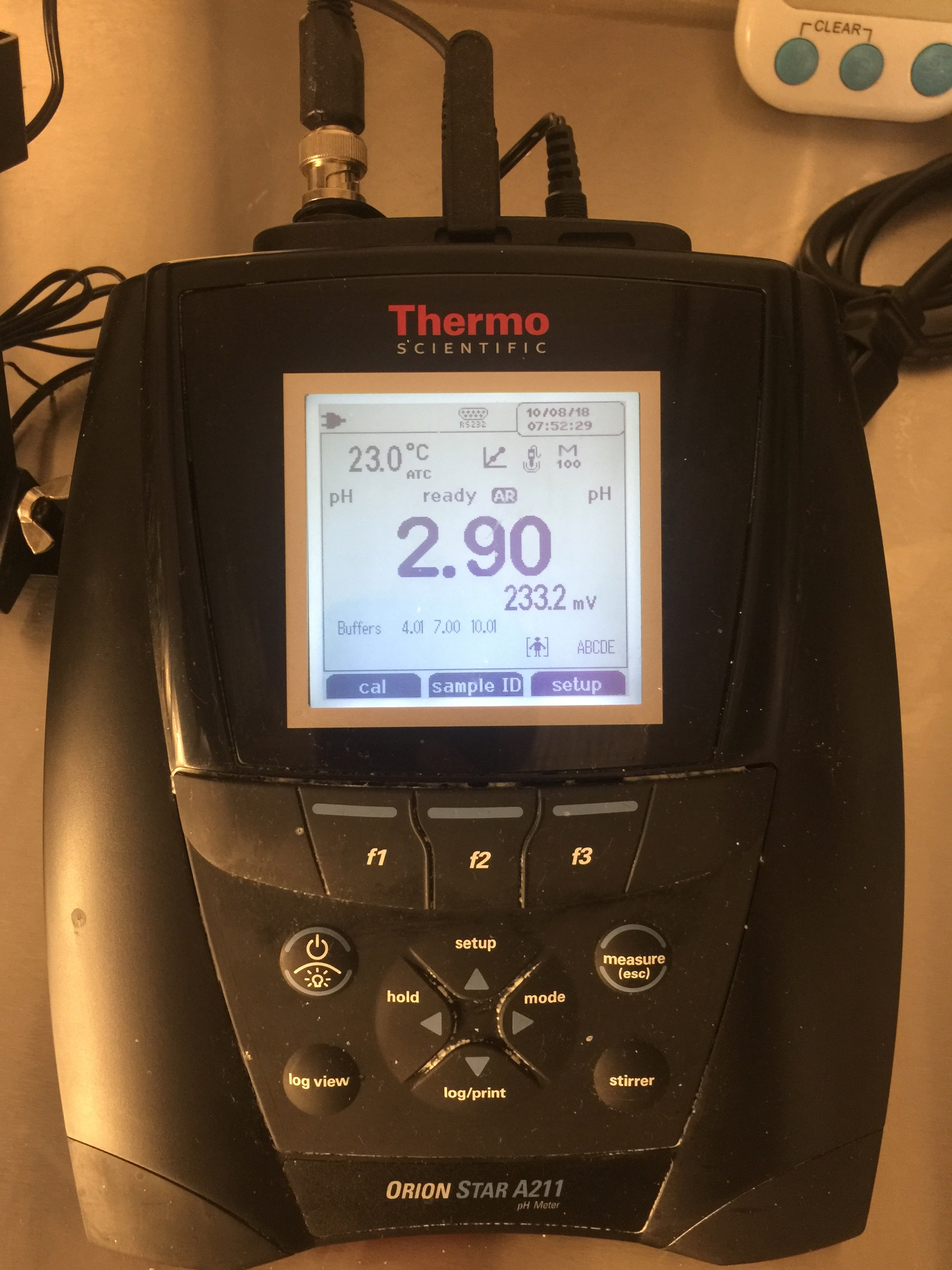 Tillamook's PH Analyzer