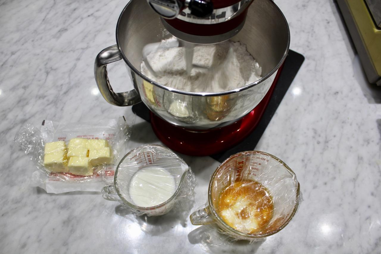 MIS EN PLACE insures all ingredients prepped