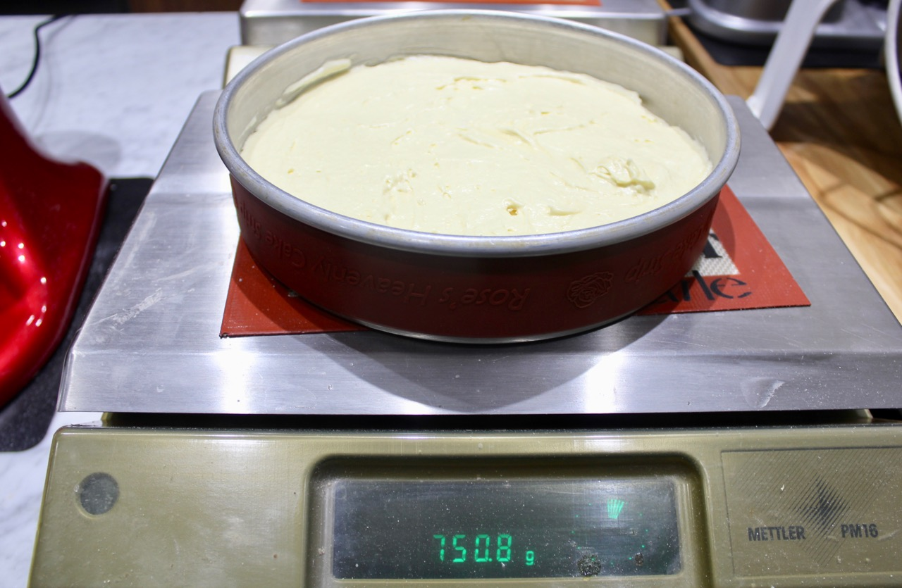 WEIGHING YOUR BATTER will flag you if you forgot or mis-measured an ingredient.  CAKE STRIPS insure uniform texture throughout the cake and minimizes over browning the sides.