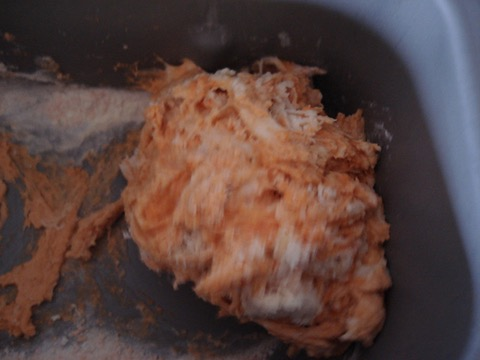 4) mashed potato and butter added to mixture