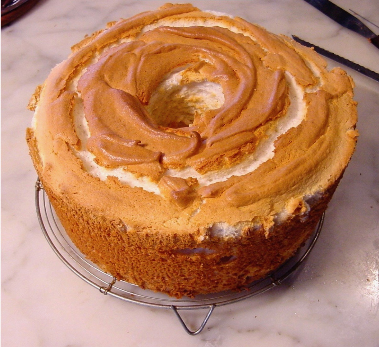 Angel Food Cake designed for a 16 cup pan