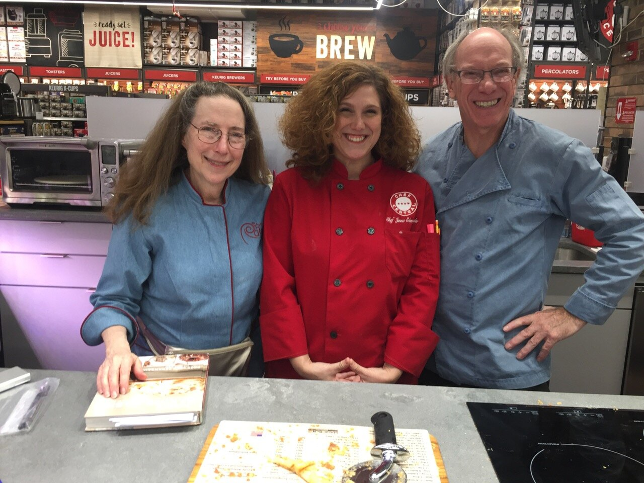 ROSEWOOD and Chef Jenna Leder fall 2018 demo