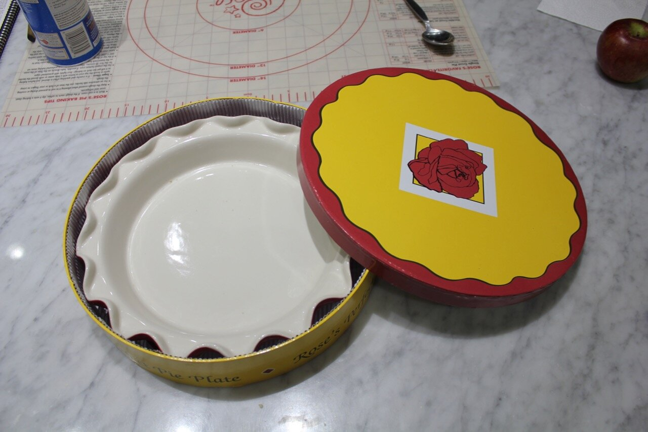 Rose's Perfect Pie Plate