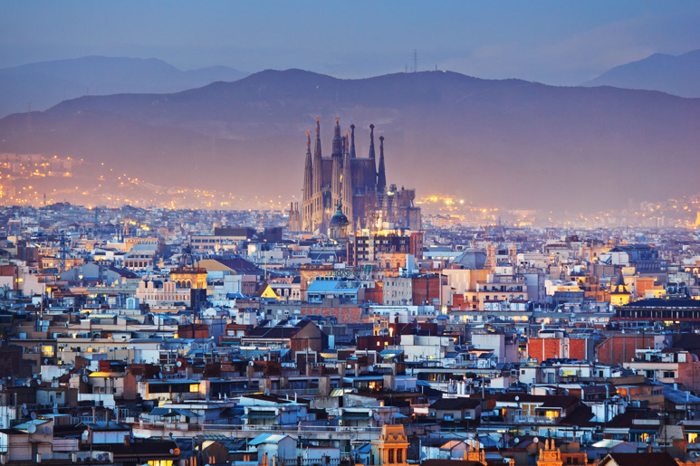 Barcelona and Sagrada Famila
