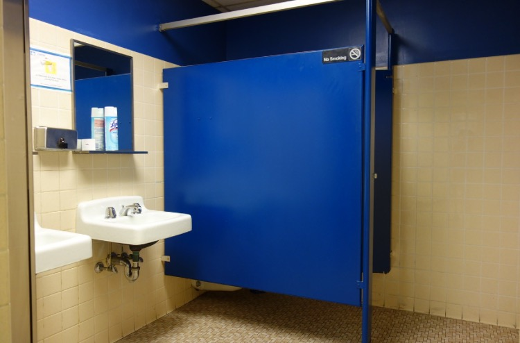 The location bathroom