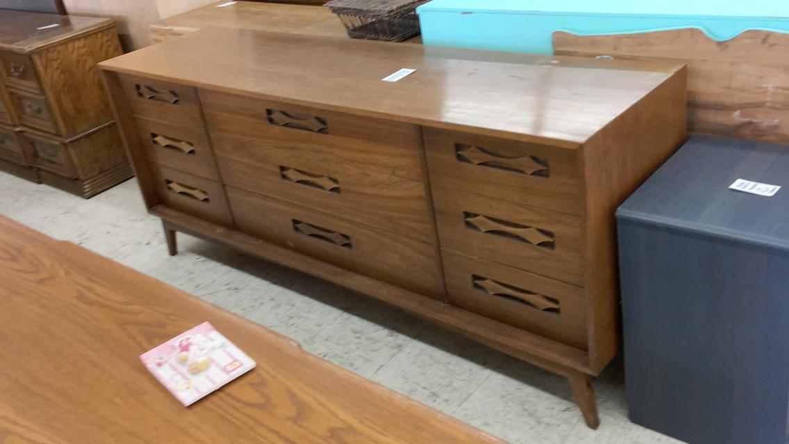 Classic mid-century dresser awaiting a new home