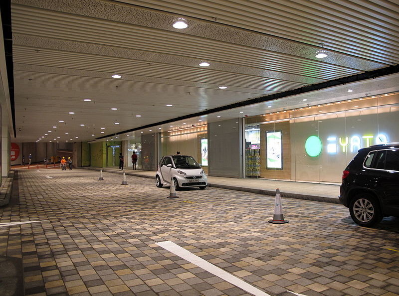 Ideally, these drop-off zones will look more like hotels and less like airports or schools