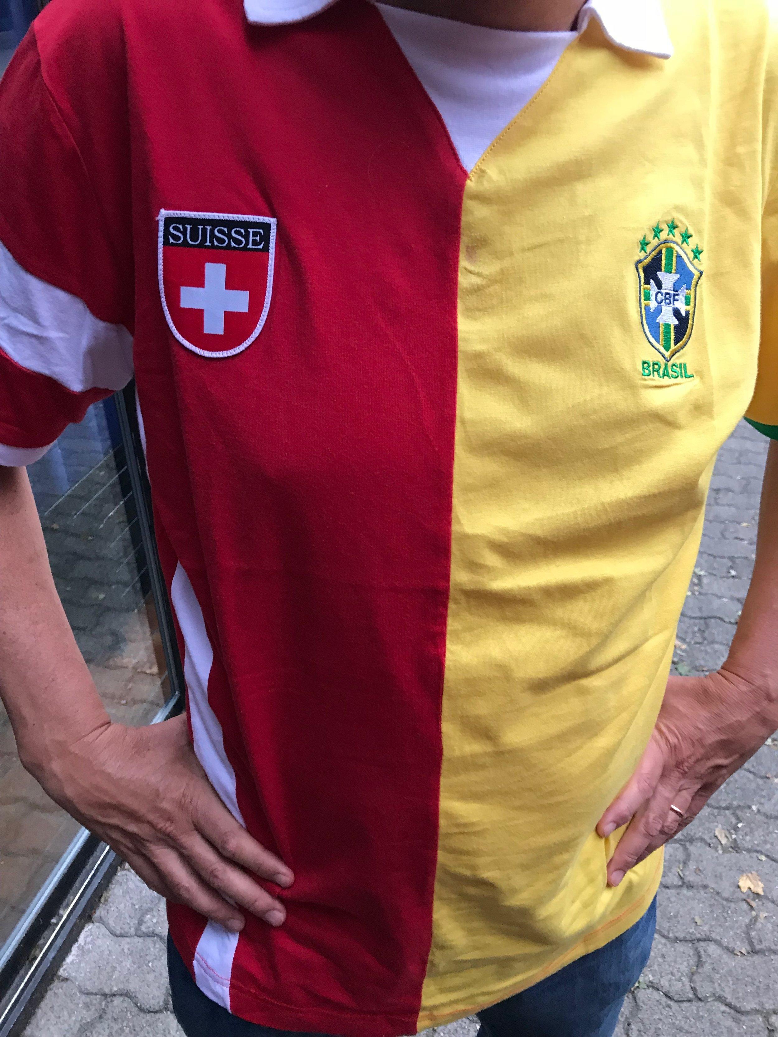 Sympathischer Fussball-Fan und Doppelbürger?