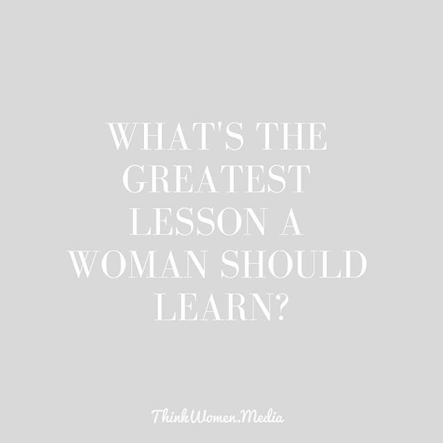 💜 THE GREATEST LESSON 💜 .  What's one lesson you've learned that you would tell your younger self?  #lessonslearned #greatestlesson #rumiquotes #youareenough #womenempowerment