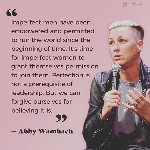Forgive yourself and carry on.  #imperfectlyperfect #carryon #strongwomen #abbywambach #thinkwomen #futureyouthrecords