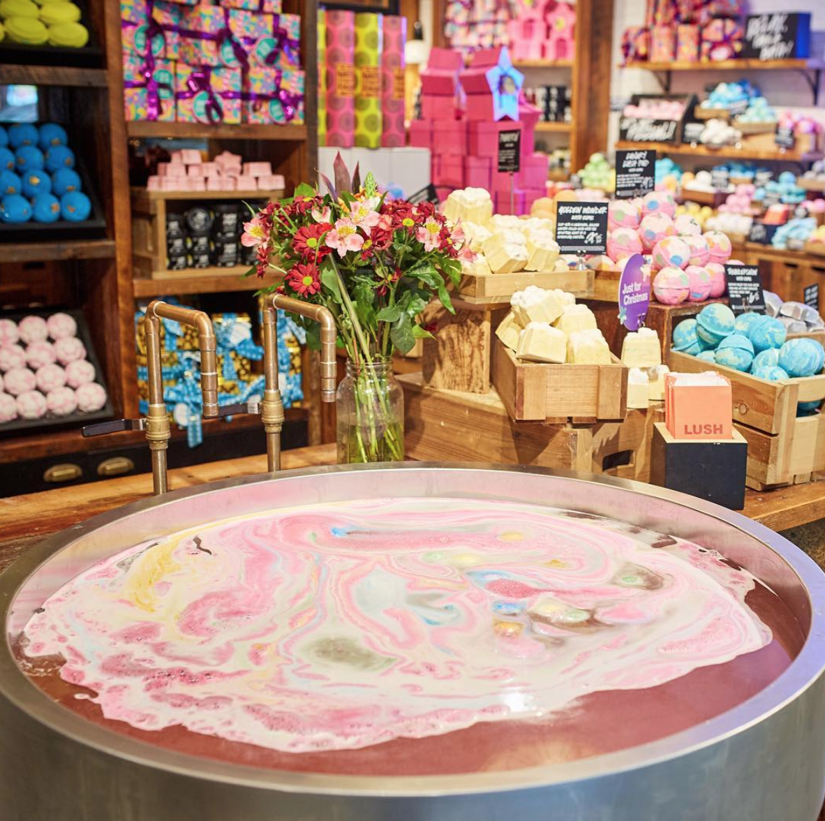 *IMAGE FROM LUSH'S INSTAGRAM
