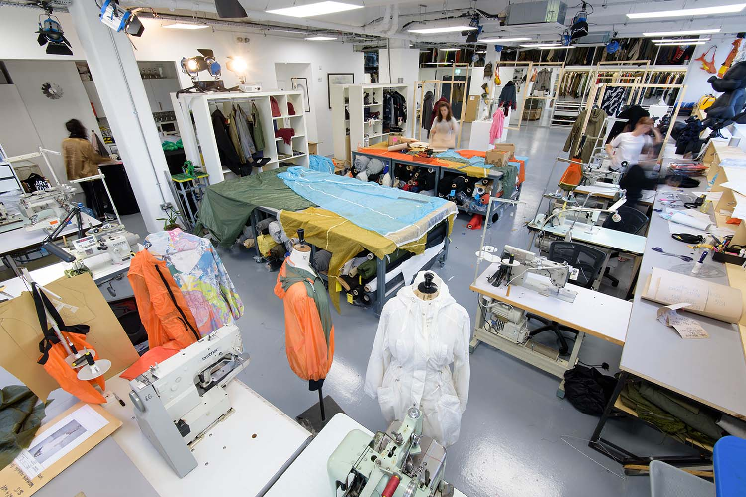 *IMAGE OF THE STUDIO IN LONDON; IMAGE FROM WEBSITE*