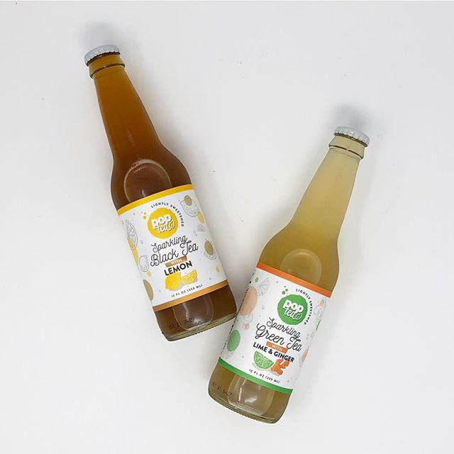 Healthy soda. Ever heard of it? Neither did we, so we created our own. #DrinkPOPTEA