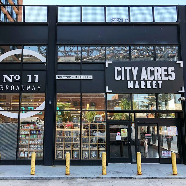 City Acres in Williamsburg is ready for summer! Find our bottles right by the entrance! 🙆🏻♂️
