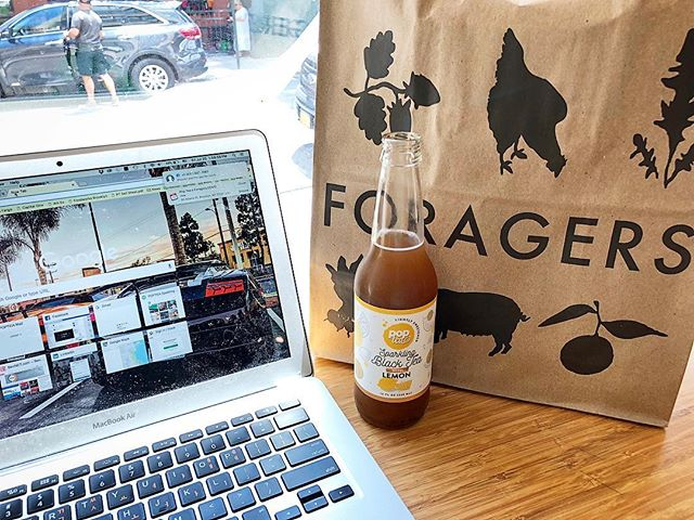 A little afternoon pick-me up via @foragersnyc in DUMBO 🤓