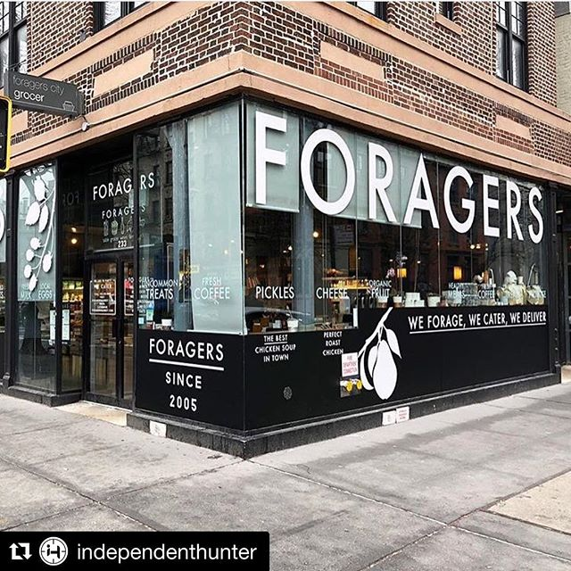 Foragers Market in Chelsea 😍 #repost @independenthunter 📷 @foragersnyc