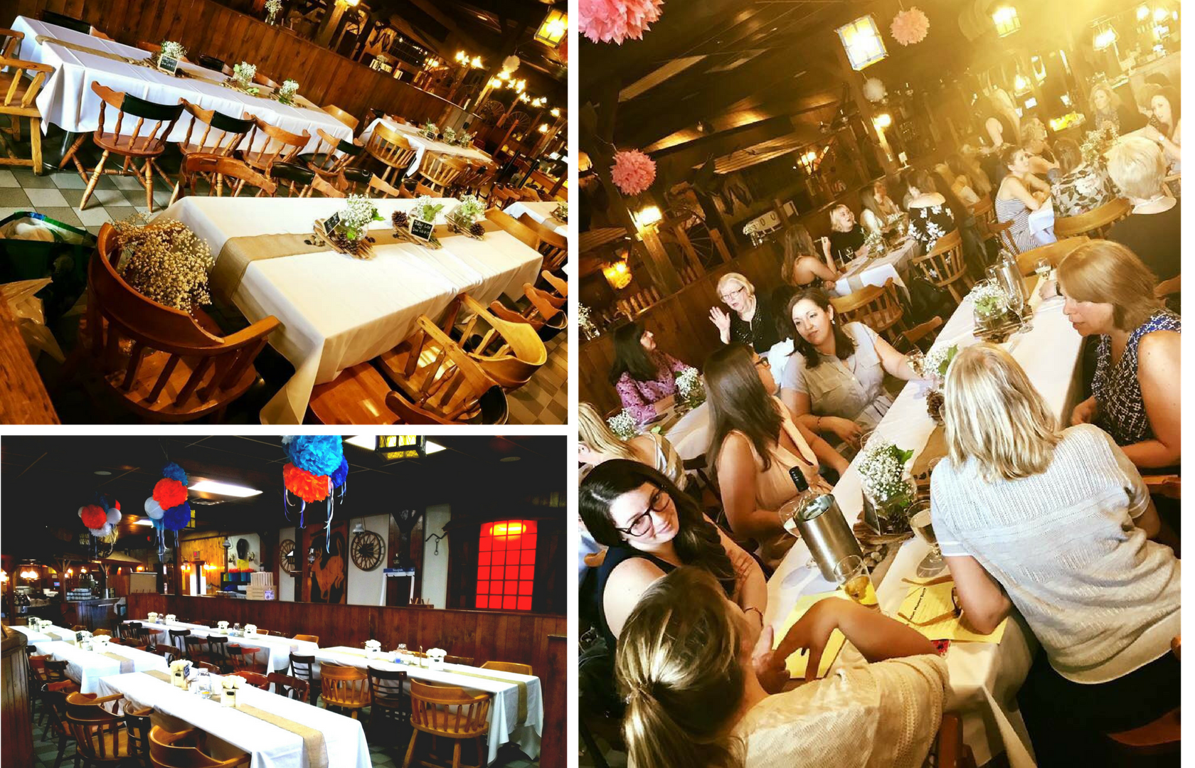 Bring Everyone ! - Come Home to The Bar-B Barn for all of your get-togethers; from Office holiday Parties to Family gatherings, even Sport Team Banquets. The Bar-B has both private and semi-private rooms to accommodate groups as large as 200+ people! Whether its your first time here or visiting again make this your go-to destisnation. Come watch your favorite sporting event, host your birthday or kick back and enjoy the best ribs in the city. Here at The Bar B Barn we believe in one thing…having a great time!