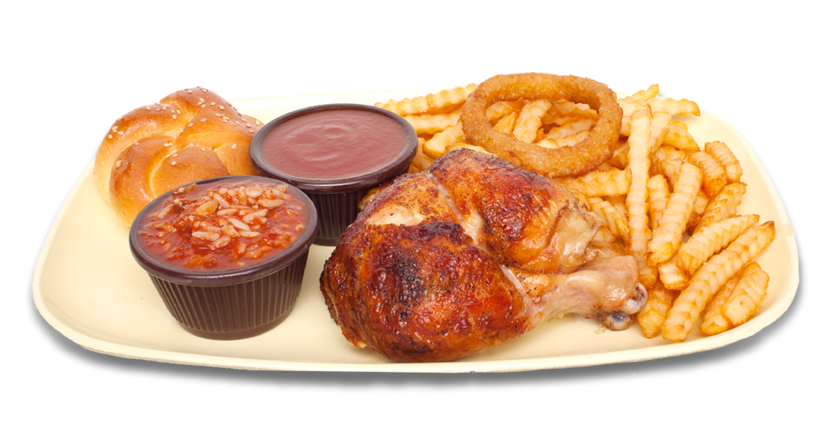 1/4 poulet -