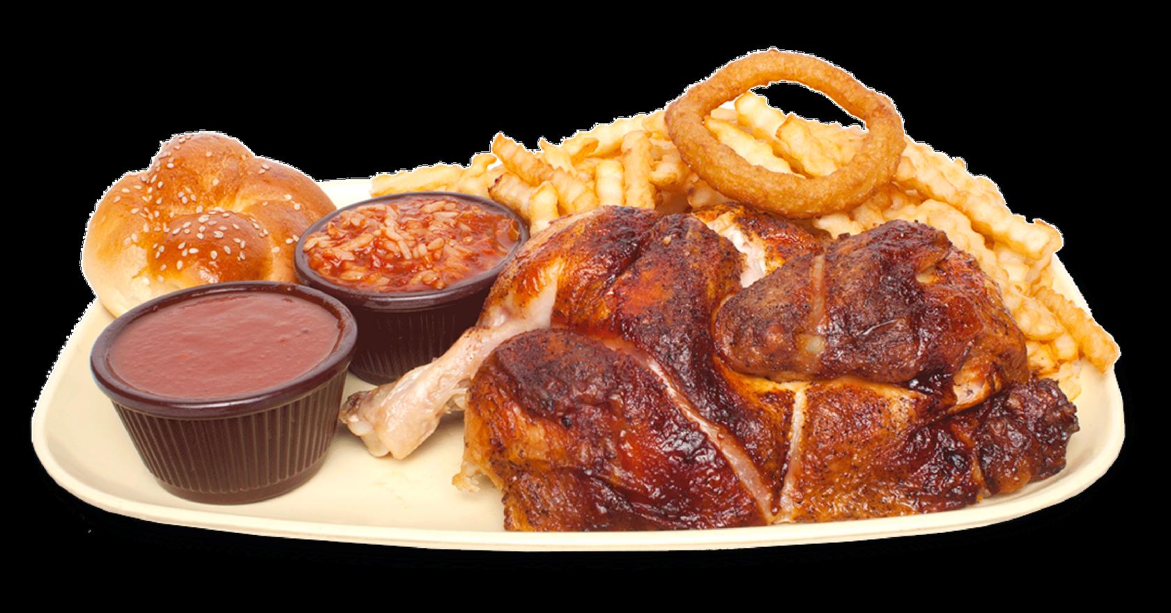 1/2 poulet -