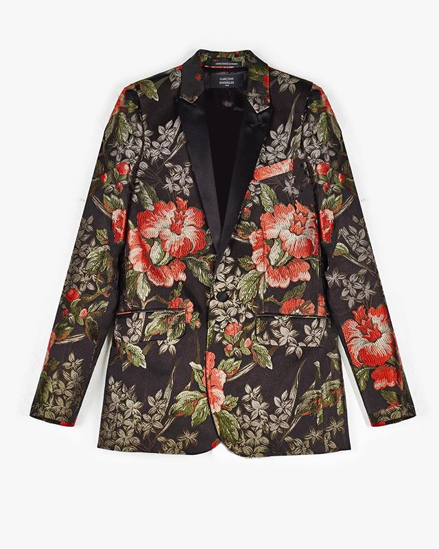 JOHNNY JACQUARD + FLOWER JACKET - @trafficlosangeles