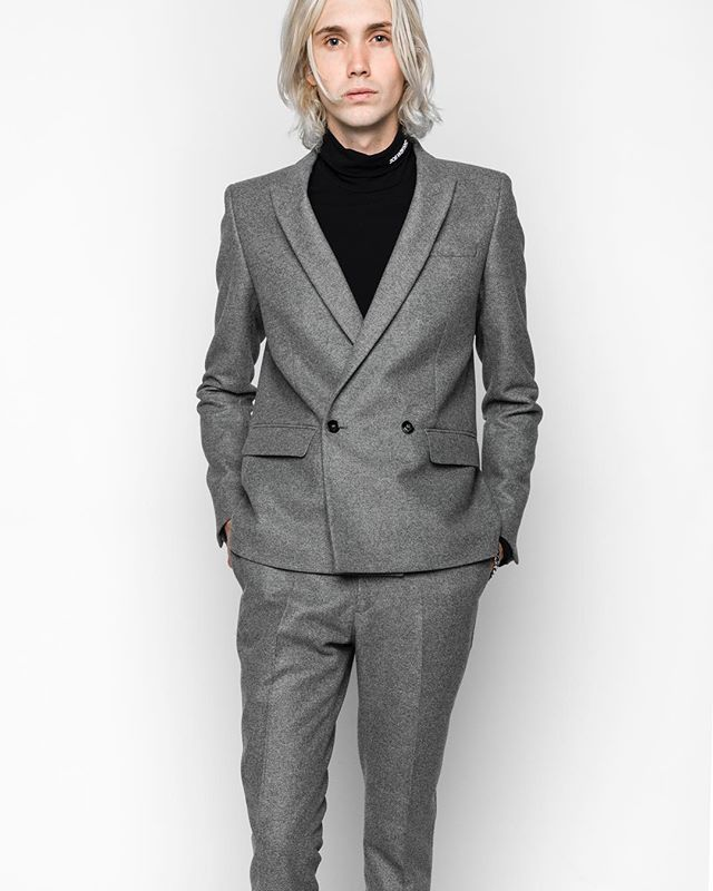 @mrktdeux DENIS WOOL SUIT