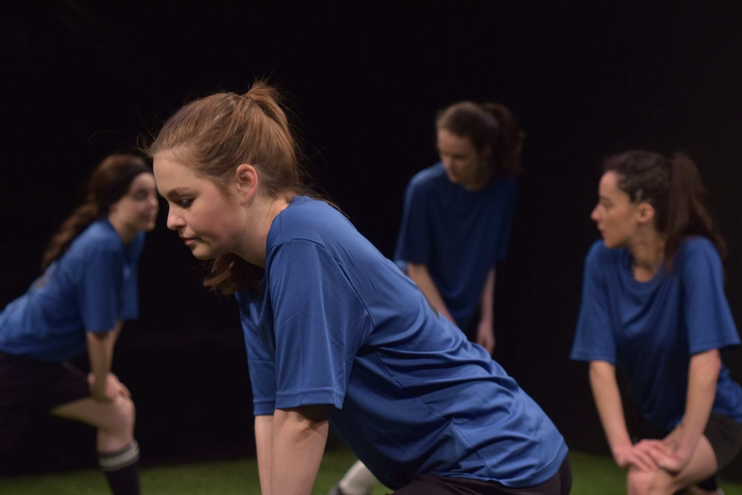 Production Pictures by:  Emma Pollard      Featured L-R: Camille Legg, Danielle Klaudt, Paige Louter and Alexandra Lainfiesta
