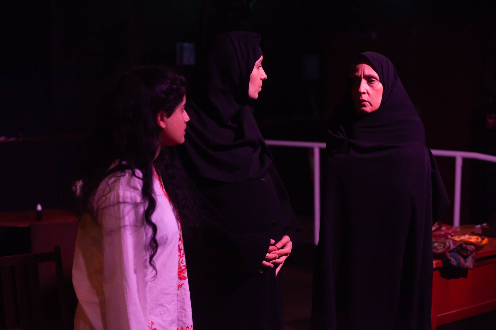 Production photos by: Jayda Paige Photography  Featuring L-R: Sabrina Vellani, Talietha Sangha and Peri Allan