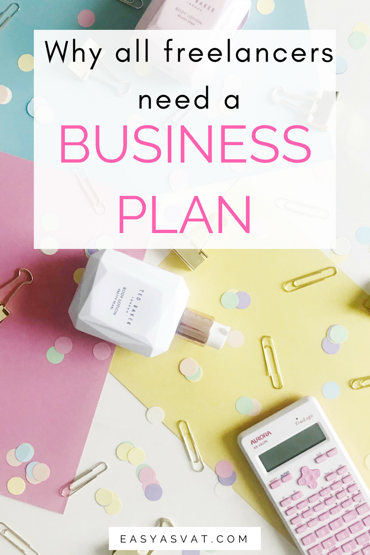 Why all freelancers need a business plan