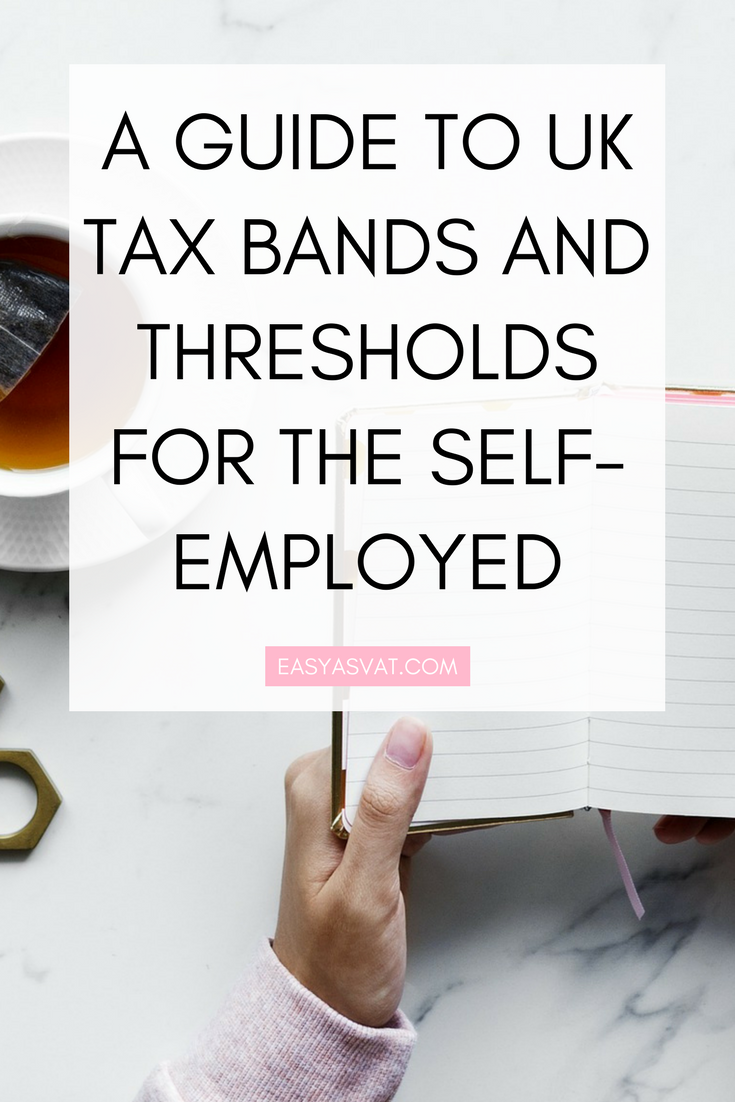 A guide to UK tax bands and thresholds for the self-employed | Easy As VAT | UK financial coach for female business owners
