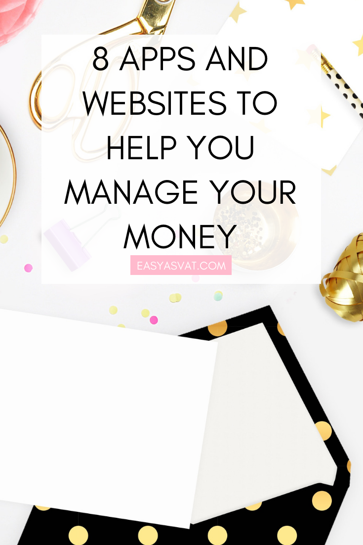 8 apps and websites to help you manage your money | Julia Day | Easy As VAT | UK financial coach for women