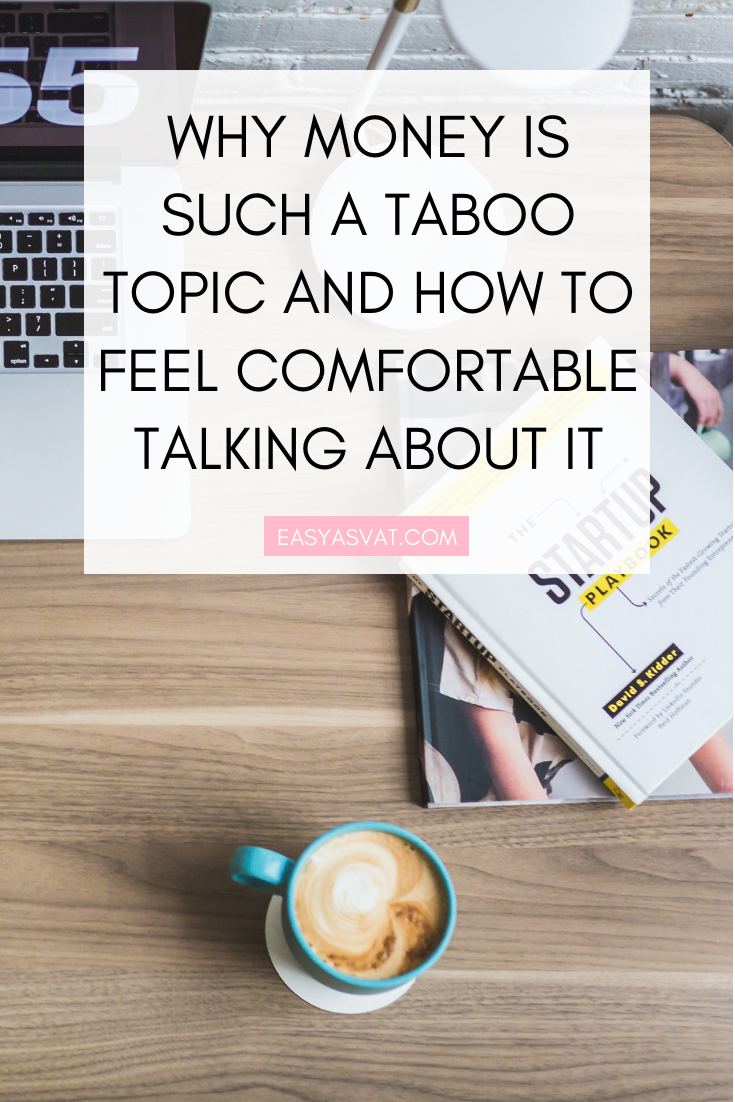 Why money is such a taboo topic and how to feel comfortable talking about it | Julia Day | Easy As VAT | UK financial coach for women