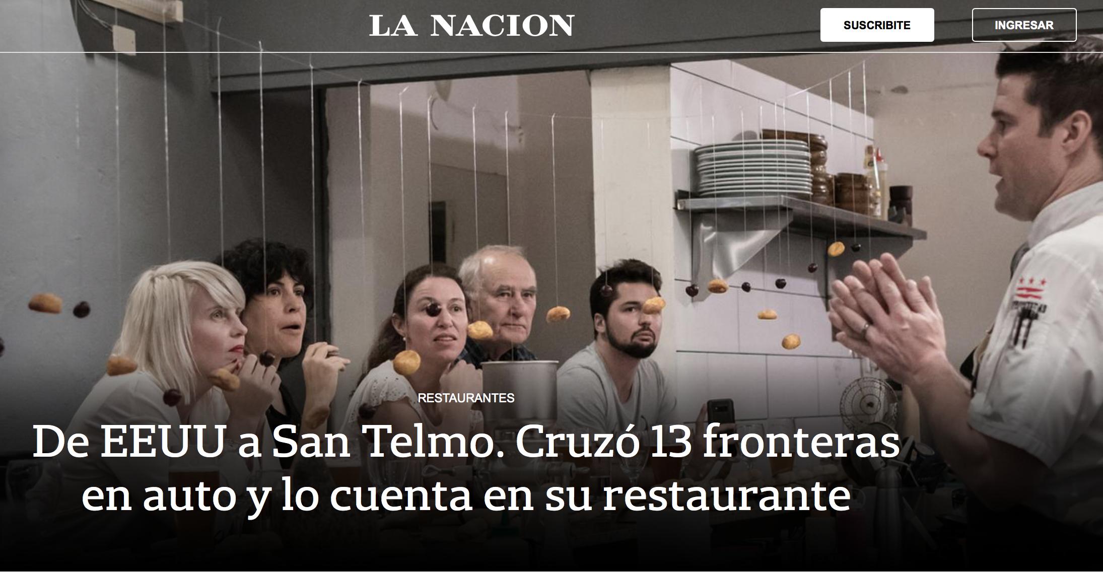 La Nación: abril 2019