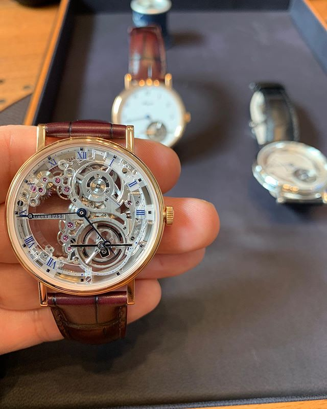 """Client: """"Well, I've seen a lot of #watches, but what if I want something really special?"""" @theweitzeffect: """"Here's an idea..."""" #breguetexplorer #breguet #complications #timepieces #watches #swissmade #theweitzeffect"""