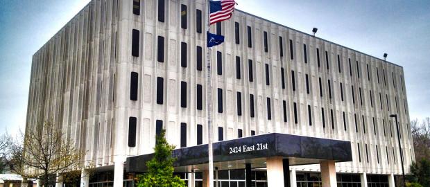 Large Bank Building in Tulsa, Oklahoma