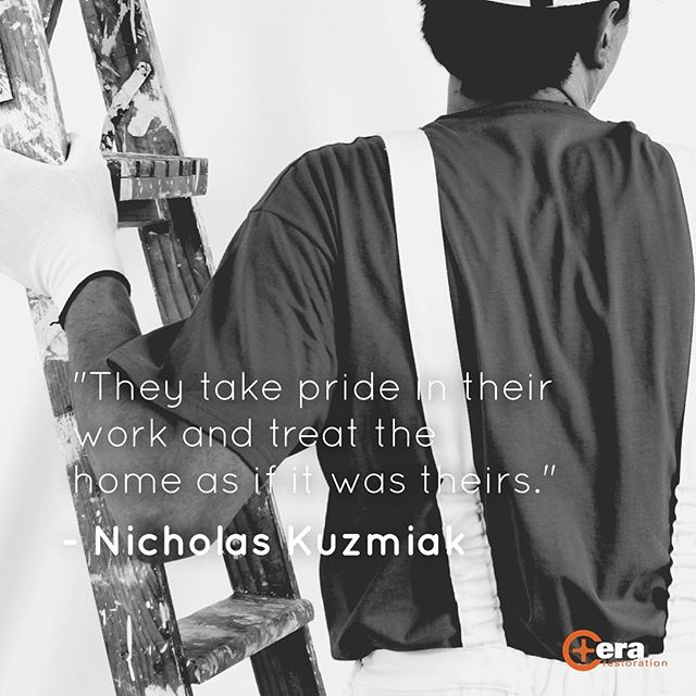 #CeraCares | Every week we'll bring you real stories from our best customers. | They take pride in their work and treat the home as if it was theirs. -Nicholas Kuzmiak