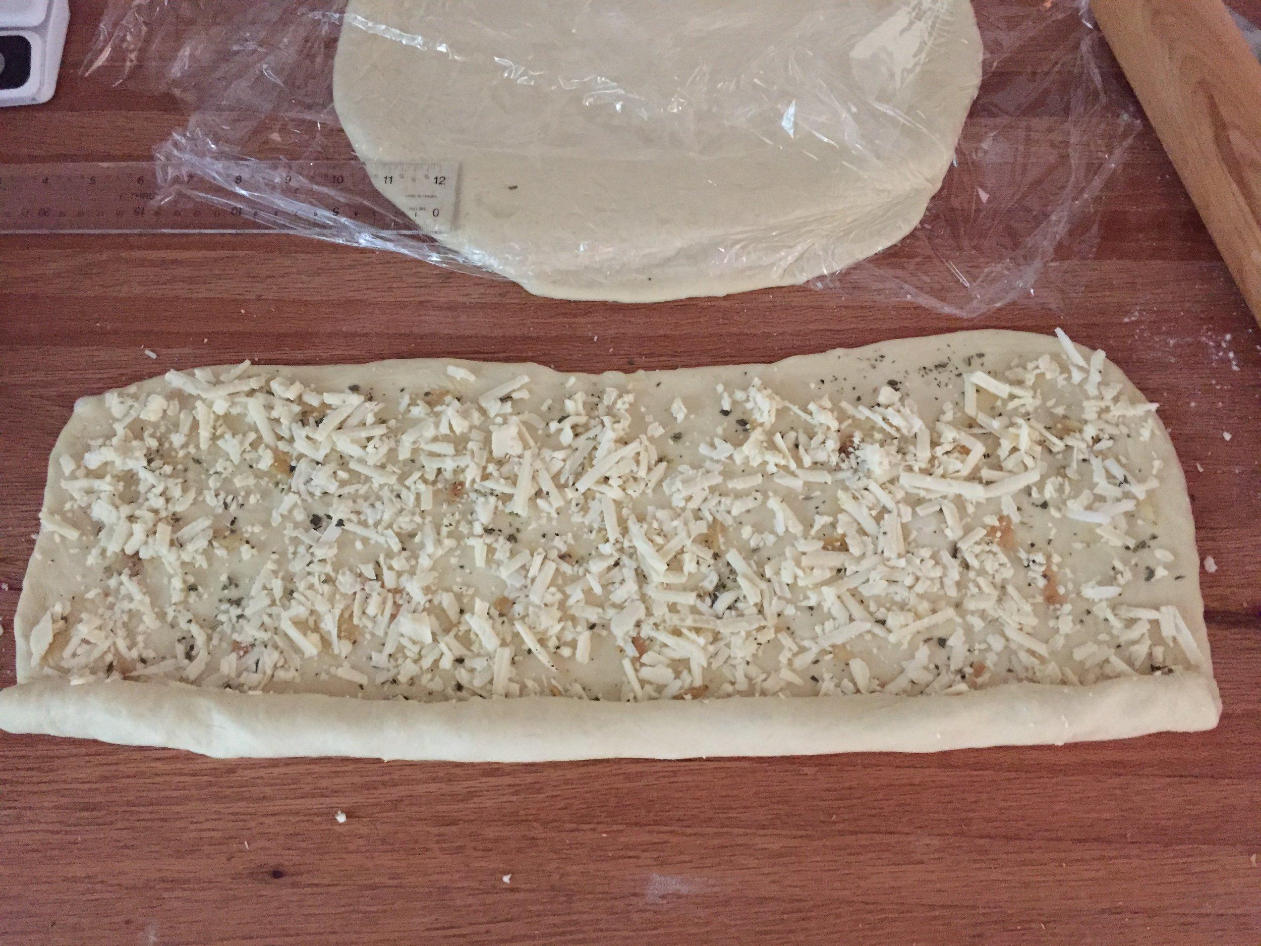 Starting the log roll