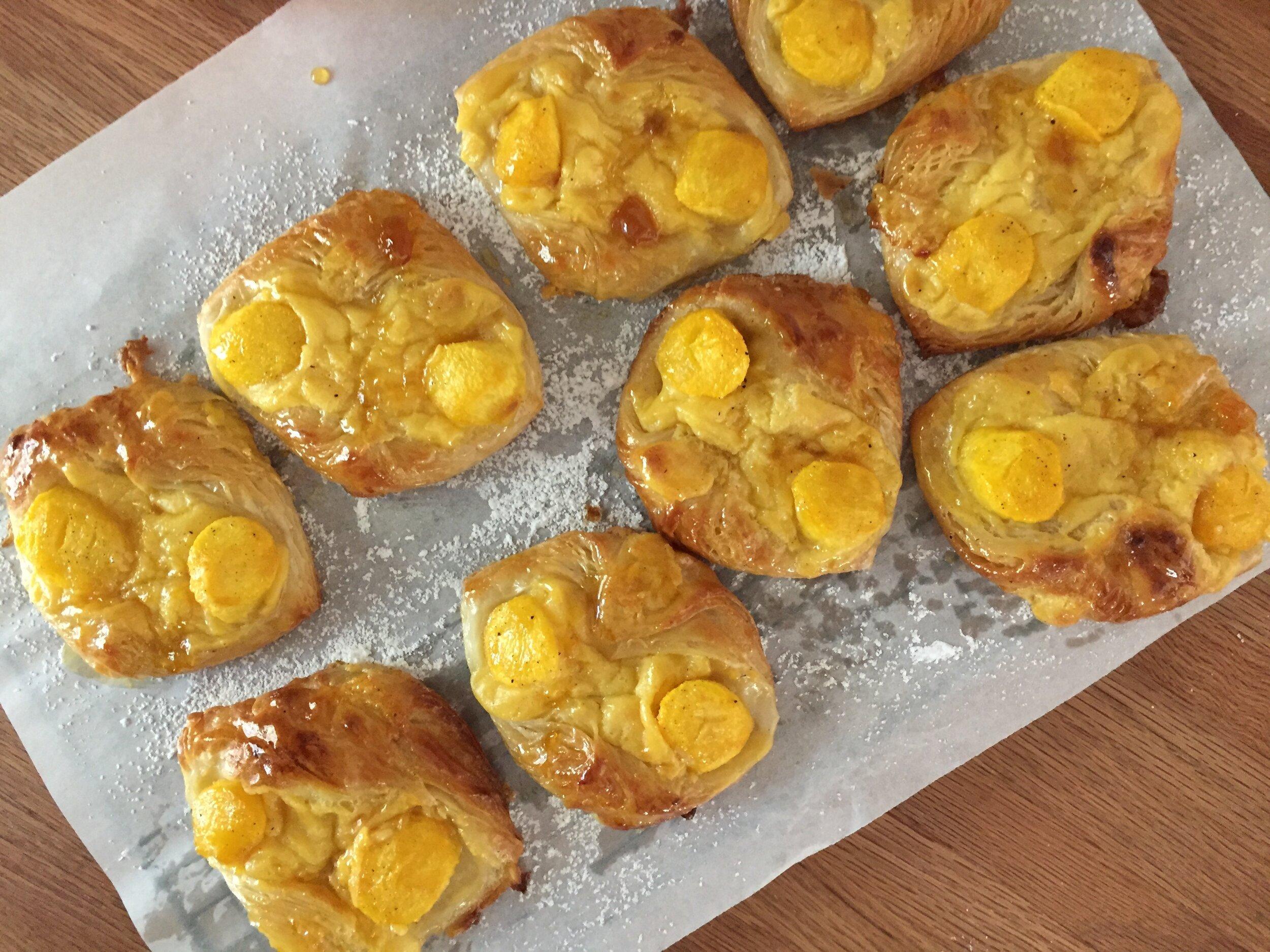 Croissant dough version result