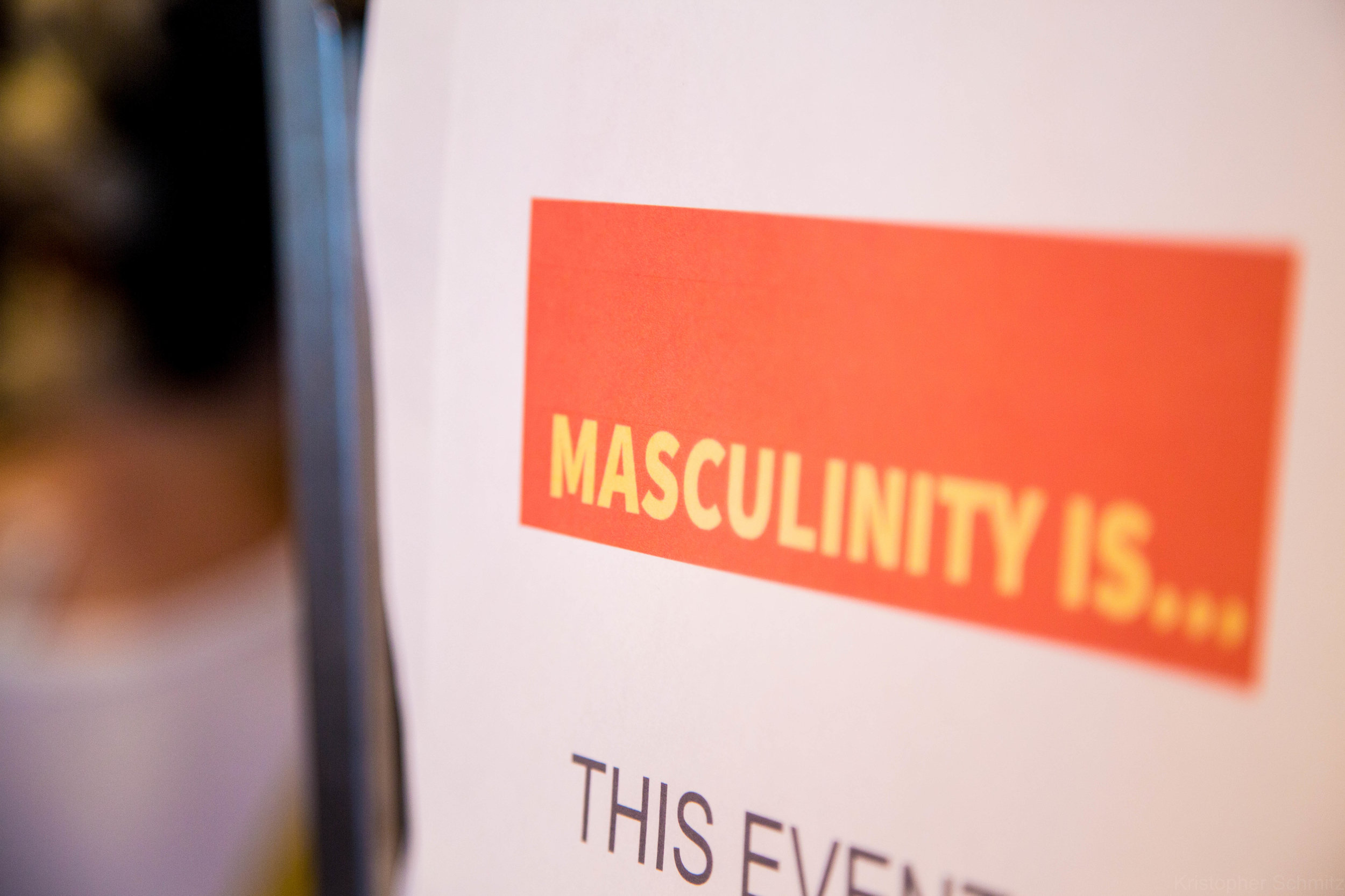Masculinity is...