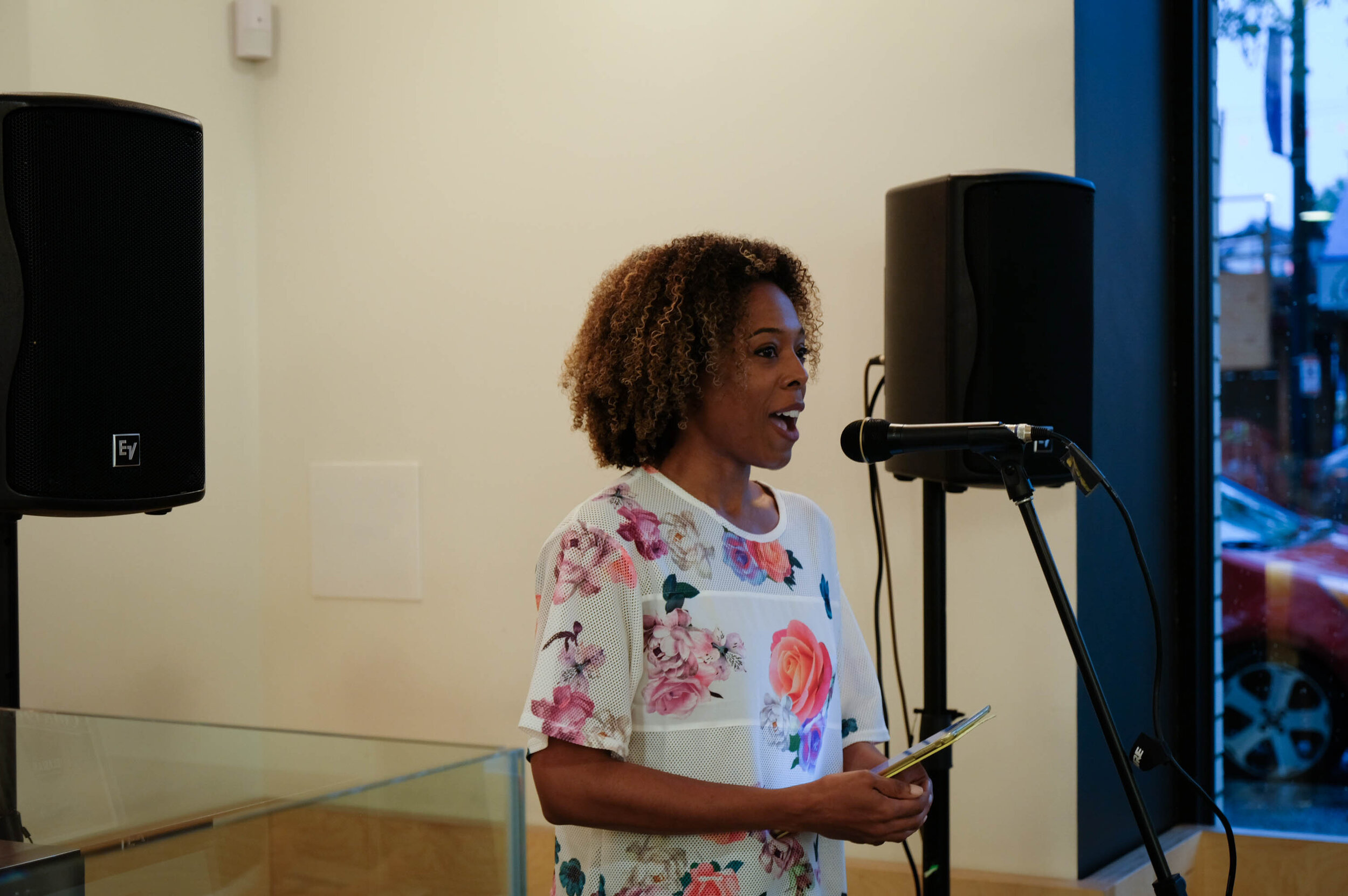 Storyteller & poet Crystal on: resisting expectations of femininity - a reclamation  Photographed by O. Fellows
