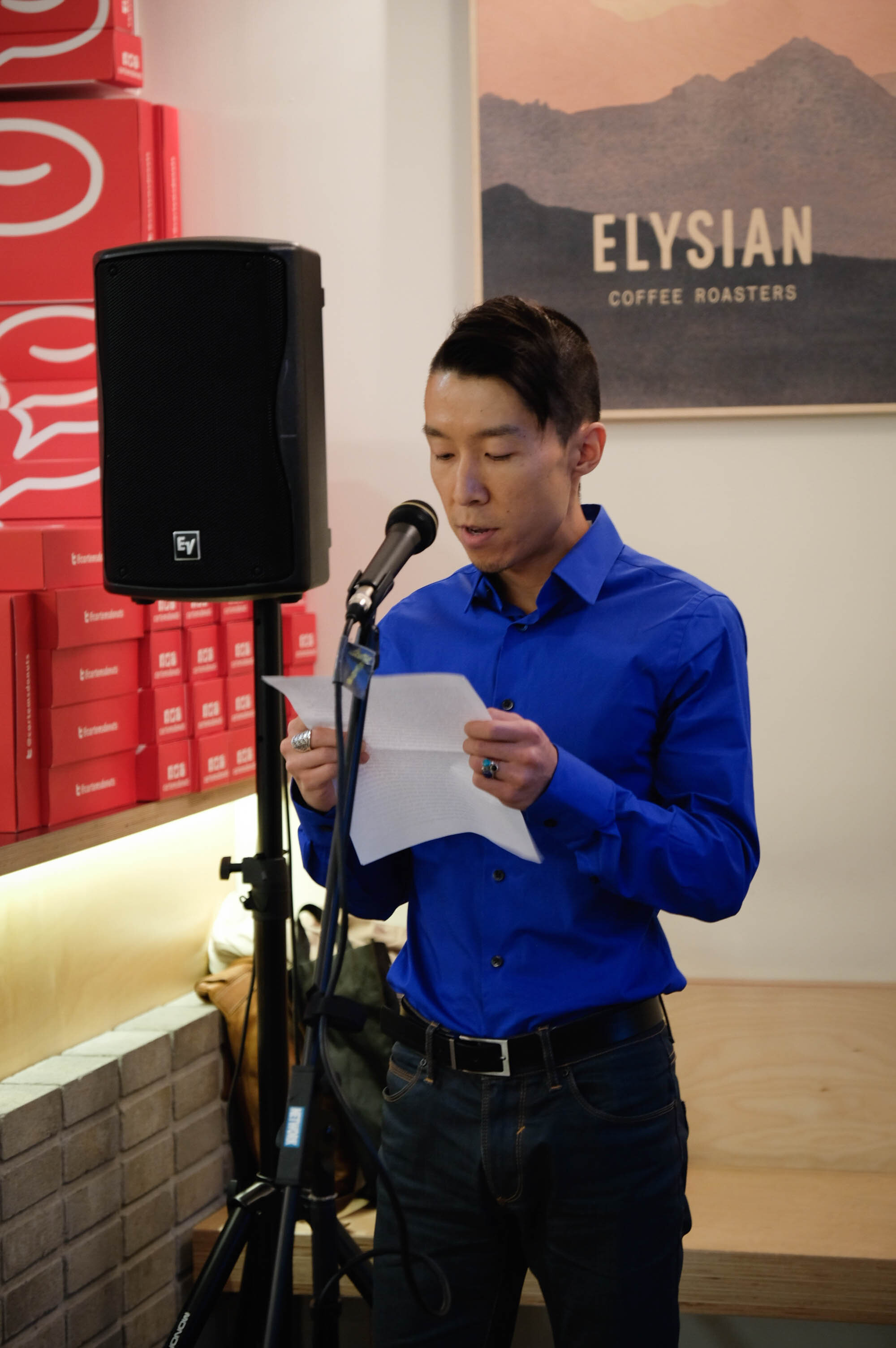 Storyteller Daniel on: his journey from childhood in rural China to present day - an open and earnest love letter to the feminine in his life.